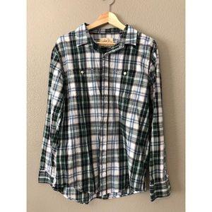 Other - Plaid Button Down Shirt
